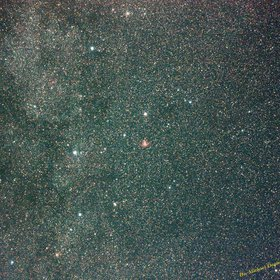 Cassiopeia with Milky Way