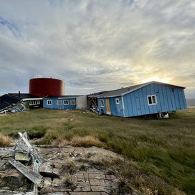 The abandoned town of Nuugaatsiaq, Greenland